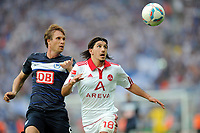 Fotball , 6. august 2011<br /> Bundesliga<br /> v.l. Andreas Ottl (Hertha), Almog Cohen<br /> Bundesliga, Hertha BSC Berlin - 1. FC Nürnberg 0:1<br /> Norway only