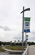 Sarasota, Florida, USA. Posters attached to the lamp posts displaying future events to b staged  at the Nathan Benderson Park. Rowing Course for the 2017 FISA World Rowing Championships.  Thursday  27/10/2016  [Mandatory Credit; Peter SPURRIER/Intersport Images]
