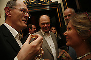 Richard Cork and Nicholas Logsdail, PARTY AFTER THE OPENING OF THE ANISH KAPOOR EXHIBITION AT THE LISSON GALLERY. Duchess Palace, 16 Mansfield St. London. W1. 10 October 2006. -DO NOT ARCHIVE-© Copyright Photograph by Dafydd Jones 66 Stockwell Park Rd. London SW9 0DA Tel 020 7733 0108 www.dafjones.com