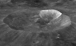 February 5, 2018 - Space - NASA's former chief exploration scientist, Michael Wargo, has been posthumously honored with the distinction of having a lunar crater named after him. Wargo Crater is an 8.6-mile (13.8 km) diameter impact crater sitting on the northwest edge of Joule T crater, on the far side of the Moon. Wargo worked at NASA from 1991 until his death in 2013. The International Astronomical Union is the naming authority for celestial bodies, and reserves the naming of Moon craters for deceased astronauts and cosmonauts, as well as deceased scientists and polar explorers who have made outstanding or fundamental contributions to their field. Wargo had many remarkable contributions to exploration science throughout his 20-year career at NASA. He was known as a science ambassador to the public, and for his ability to decipher complex science for students and nontechnical audiences. He was passionate about scientific discoveries that would enable human exploration in deep space, and worked with planetary researchers around the world to develop robotic discovery missions. (Credit Image: © NASA/ZUMA Wire/ZUMAPRESS.com)