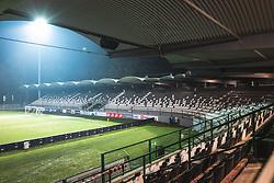 View from stadium before football match between NS Mura and ND Gorica in 22nd round of Prva liga Telekom Slovenije 2020/21, on 20 February, 2021 in Fazanerija city stadium in Murska Sobota, Slovenia. Photo by Blaž Weindorfer / Sportida