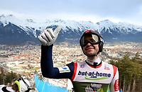 Hopp<br /> FIS World Cup<br /> Innsbruck Østerrike<br /> 03.01.2013<br /> Foto: Gepa/Digitalsport<br /> NORWAY ONLY<br /> <br /> FIS Weltcup der Herren, Vierschanzen-Tournee, Training und Qualifikation. Bild zeigt Anders Jacobsen (NOR).