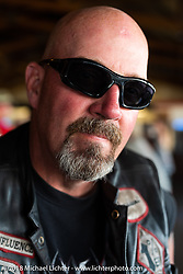 Sons of Silence MC party during the 78th annual Sturgis Motorcycle Rally. Sturgis, SD. USA. Wednesday August 8, 2018. Photography ©2018 Michael Lichter.