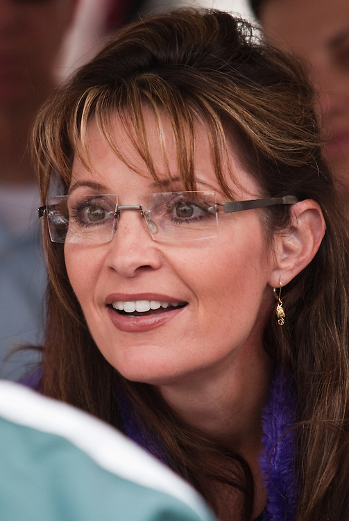 Governor Sarah Palin at the Governor's Picnic, July 25, 2009, Anchorage, Alaska