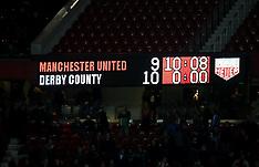 Manchester United v Derby County - 25 Sept 2018