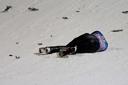 06.01.2012, Paul Ausserleitner Schanze, Bischofshofen, AUT, 60. Vierschanzentournee, FIS Ski Sprung Weltcup, 1. Wertungssprung, im Bild Lukas Hlava (CZE) nach seinem Sturz // Lukas Hlava of Czechia after his Crash during 1st Round of 60th Four-Hills-Tournament FIS World Cup Ski Jumping at Paul Ausserleitner Schanze, Bischofshofen, Austria on 2012/01/06. EXPA Pictures © 2012, PhotoCredit: EXPA/ Johann Groder