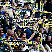 Fenerbahce's Supporters fans during their Turkish superleague soccer match Fenerbahce between Akhisar Belediyespor at the Sukru Saracaoglu stadium in Istanbul Turkey on Sunday 31 March 2013. Photo by TURKPIX
