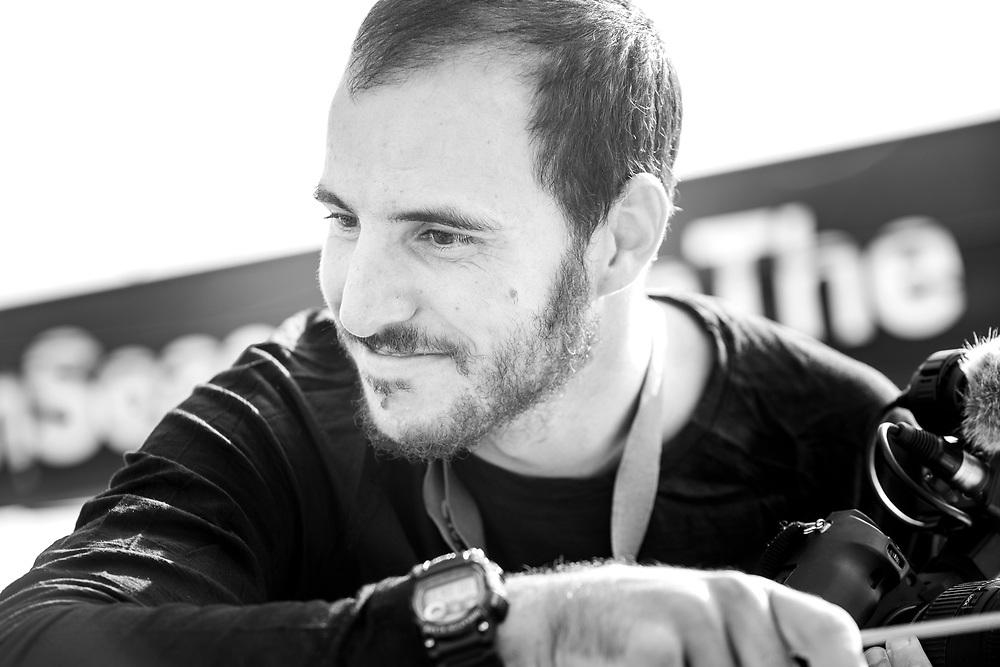 Ugo Fonollá (ESP). Reportero a bordo. On board Reporter.