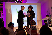 SIR JAMES DYSON AND YVES BEHAR, Brit Insurance Design Awards. Design Museum. London. 18 March 2008.  *** Local Caption *** -DO NOT ARCHIVE-© Copyright Photograph by Dafydd Jones. 248 Clapham Rd. London SW9 0PZ. Tel 0207 820 0771. www.dafjones.com.