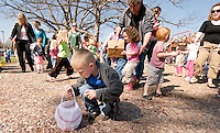 Laconia Parks and Recreation Easter egg hunt at Leavitt Park l April 3, 2010.