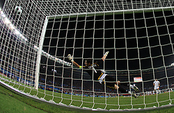 Goalkeeper of Spain Ikes Casillas during penalty shots during the UEFA EURO 2008 Quarter-Final soccer match between Spain and Italy at Ernst-Happel Stadium, on June 22,2008, in Wien, Austria. Spain won after penalty shots 4:2. (Photo by Vid Ponikvar / Sportal Images)