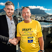 Ian Botham walks for charity - 9 December 2015
