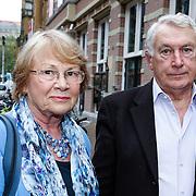 NLD/Amsteram/20121024- Presentatie biografie Joop van den Ende, Koos Postema en partner Ineke