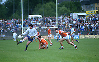 General view, GV, match, gaelic football, GAA,  Armagh-Monaghan, match,19850705GV2..Copyright Image from Victor Patterson, 54 Dorchester Park, Belfast, UK, BT9 6RJ..Tel: +44 28 9066 1296.Mob: +44 7802 353836.Voicemail +44 20 8816 7153.Skype: victorpattersonbelfast.Email: victorpatterson@me.com.Email: victorpatterson@ireland.com (back-up)..IMPORTANT: If you wish to use this image or any other of my images please go to www.victorpatterson.com and click on the Terms & Conditions. Then contact me by email or phone with the reference number(s) of the image(s) concerned.