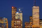 Toronto City at dusk<br /> toronto<br /> Ontario<br /> Canada