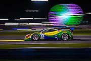 January 22-25, 2015: Rolex 24 hour. 64, Ferrari, 458 Italia, GTD, Francisco Longo, Daniel Serra, Marcos Gomes, Andrea Bertolini