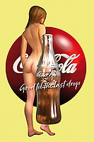 """There are few brands more legendary than Coca-Cola. If you love Coke, or if you just appreciate the potential of unique pop art, this combination of the Coca-Cola bottle, the Coke logo, and one of their most famous slogans. """"Good till the last drop indeed!"""" This piece brings all of these things together with a lovely image of a nude woman. This tribute to the female form is a great combination of humanity with mass media. There are a variety of different impressions that one can certainly take away from something such as this. You can have this place installed anywhere. .<br /> <br /> BUY THIS PRINT AT<br /> <br /> FINE ART AMERICA<br /> ENGLISH<br /> https://janke.pixels.com/featured/good-till-the-last-drop-jan-keteleer.html<br /> <br /> <br /> WADM / OH MY PRINTS<br /> DUTCH / FRENCH / GERMAN<br /> https://www.werkaandemuur.nl/nl/shopwerk/Pop-Art---Coca-Cola/438220/134"""