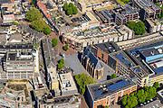 Nederland, Gelderland, Nijmegen, 29-05-2019; historisch binnenstad Nijmegen met in centrum van de Oude Stad onder andere Mariënburg, Lux, Gemeente Nijmgen (stadskantoor).<br /> Historic center Nijmegen with in the center of the Old City Mariënburg.<br /> luchtfoto (toeslag op standard tarieven);<br /> aerial photo (additional fee required);<br /> copyright foto/photo Siebe Swart