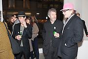 TIM NOBLE; MALCOLM VENVILLE; CHRIS HANLEY, Mandala for Crusoe, Exhibition of work by Francesco Clemente. Blain/Southern. Hanover Sq. London. 29 November 2012