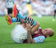 Aston Villa v Newcastle United 230814