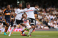 Ryan Tunnicliffe of Fulham in action. Skybet EFL championship match, Fulham v Newcastle Utd at Craven Cottage in Fulham, London on Friday 5th August 2016.<br /> pic by John Patrick Fletcher, Andrew Orchard sports photography.
