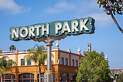 North Park Sign San Diego