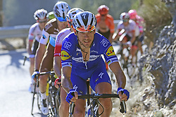 March 16, 2019 - Col De Turini, France - GILBERT Philippe (BEL) of DECEUNINCK - QUICK - STEP pictured during stage 7 of the 2019 Paris - Nice cycling race with start in Nice and finish in Col de Turini  on March 16, 2019 in Col De Turini, France, (Credit Image: © Panoramic via ZUMA Press)