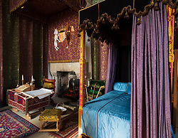 Queen's bedchamber at Stirling Castle, Stirling, Scotland UK