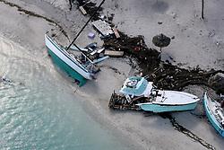 September 13, 2017 - Duck Key, Florida, U.S.- Damaged boats in Key West after Hurricane Irma hit the Florida Keys, on Wednesday. (Credit Image: © Mike Stocker/TNS via ZUMA Wire)