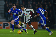 during the EFL Sky Bet Championship match between Derby County and Birmingham City at the iPro Stadium, Derby, England on 27 December 2016. Photo by Simon Davies.