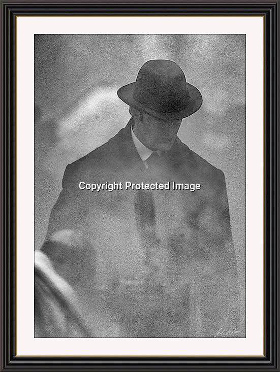 RUPERT EVERETT SHERLOCK HOLMES  Wobourn Walk London Sept 2004, A3 Museum-quality Archival signed Framed Print