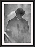 RUPERT EVERETT SHERLOCK HOLMES  Wobourn Walk London Sept 2004, A3 Museum-quality Archival signed Framed Print £450
