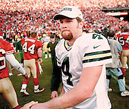 1999-Green Bay's Brett Favre leaves the field after sunday's loss. WSJ/Apps.