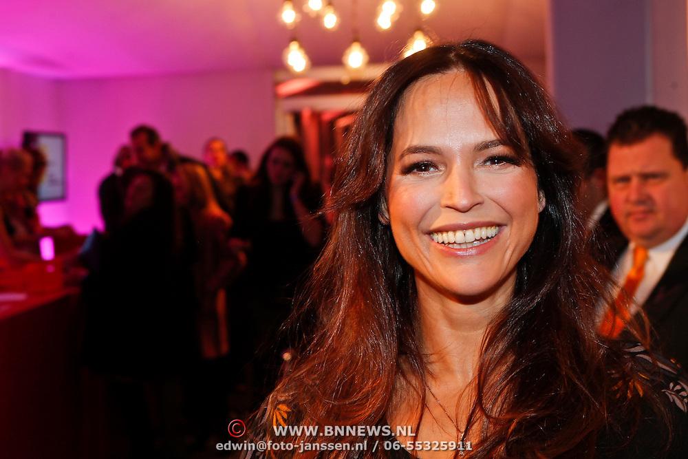 NLD/Amsterdam/20110128 - AIFW winter 2011, show Addy van den Krommenacker, Evelyn Struik