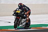 #44 Pol Espargaro, Spanish: tests the new Red Bull KTM Factory Racing during 2020 MotoGP Testing at Circuito Ricardo Tormo Cheste, Valencia, Spain on 19 November 2019.