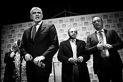 Matera (MT) 15.02.2013 - Pier Ferdinando Casini a Matera per una manifestazione pubblica in vista delle prossime elezioni politiche. Foto Giovanni Marino