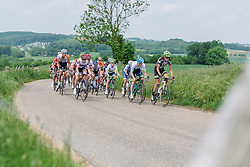 Head of the race as the climbs come thick and fast at Boels Hills Classic 2016. A 131km road race from Sittard to Berg en Terblijt, Netherlands on 27th May 2016.
