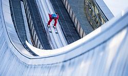 31.12.2017, Olympiaschanze, Garmisch Partenkirchen, GER, FIS Weltcup Ski Sprung, Vierschanzentournee, Garmisch Partenkirchen, Training, im Bild Denis Kornilov (RUS) // Denis Kornilov of Russian Federation during his Practice Jump for the Four Hills Tournament of FIS Ski Jumping World Cup at the Olympiaschanze in Garmisch Partenkirchen, Germany on 2017/12/31. EXPA Pictures © 2017, PhotoCredit: EXPA/ Jakob Gruber