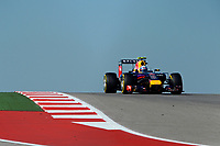 RICCIARDO Daniel (Aus) Red Bull Renault Rb10 action during the 2014 Formula One World Championship, United States of America Grand Prix from November 1st to 2nd 2014 in Austin, Texas, USA. Photo Eric Vargiolu / DPPI.