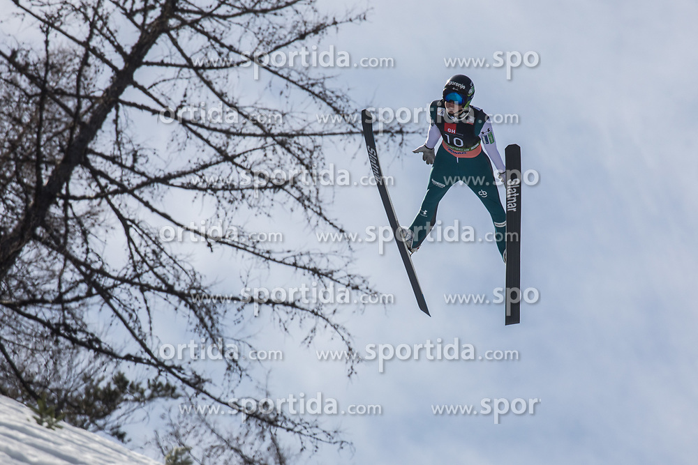 Tilen Bartol (SLO) during the 1st round of the Ski Flying Hill Individual Competition at Day 2 of FIS Ski Jumping World Cup Final 2019, on March 22, 2019 in Planica, Slovenia. Photo Peter Podobnik / Sportida