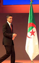 December 3, 2016 - Algiers, Argentina - Ali Haddad head of the Forum of Business Leaders (FCE) at the African Investment and Business Forum at the International Conference Center Abdellatif Rahal (Club des pins) in Algiers, Algeria, on 3 December 2016 with no fewer than 1,000 African participants, of more than 40 African countries. (Credit Image: © Billal Bensalem/NurPhoto via ZUMA Press)