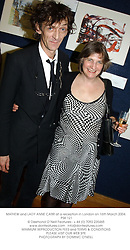 MATHEW and LADY ANNE CARR at a reception in London on 16th March 2004.<br /> PSK 121