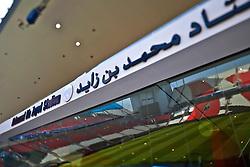 Vista do Mohammed Bin Zayed Stadium. O Internacional participa de 8 a 18 de dezembro do Mundial de Clubes da FIFA, em Abu Dhabi. FOTO: Jefferson Bernardes/Preview.com