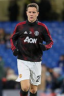 Manchester United Midfielder Ander Herrera warm up during the The FA Cup 5th round match between Chelsea and Manchester United at Stamford Bridge, London, England on 18 February 2019.