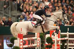 Allen Bertram, (IRL), Molly Malone V<br /> Longines FEI World Cup presented by Sparkasse<br /> Sparkasen Cup-Grand Prix of Leipzig<br /> CSIO Leipzig 2016<br /> © Hippo Foto - Stefan Lafrentz