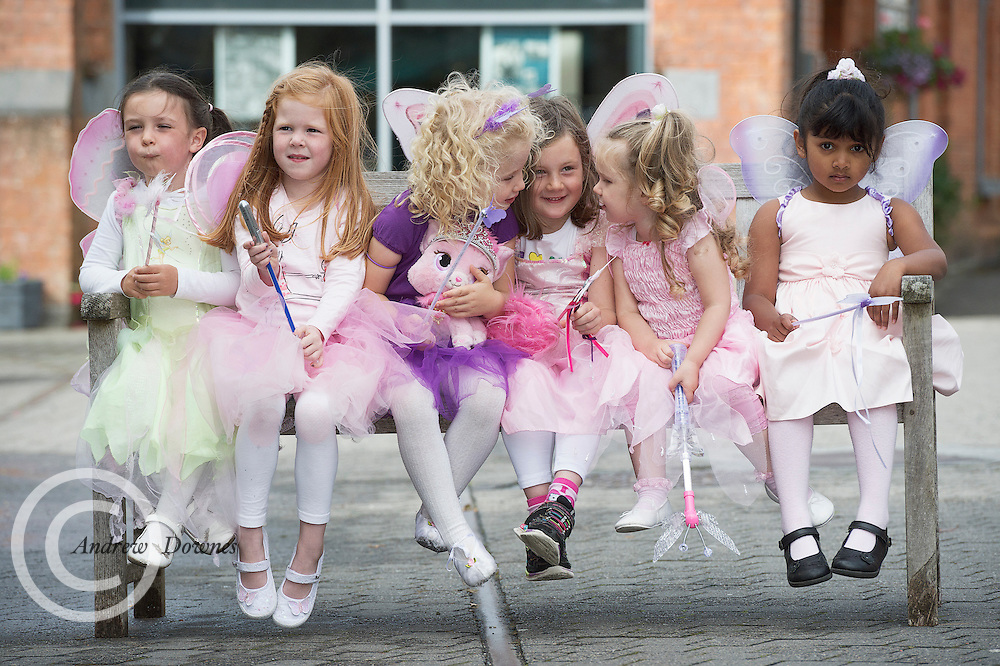 24/08/2015 repro free Little Fairies  Aoibhin O Malley ,  Ava Mitchelle, Olwyn Conroy,  April Bayliss, Zara Joyce, and Reyhene Soepaing at the launch of the  Clifden Arts Festival now in its 38th year, featuring over 200 acts and performances over 10 days from September 17th to 27th, Clifden Arts Festival continues to combine the best of international and national artists. To add to the magic of the Clifden Arts Festival a Fairy Trail will be held on the 19th of September in the town. Photo:Andrew Downes, xposure