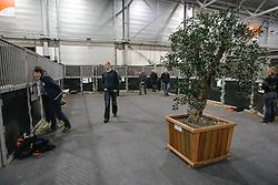 Stallen<br /> KWPN Hengstenkeuring 2009<br /> Photo© Dirk Caremans