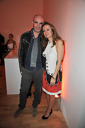 LUCY YEOMANS and JASON BROOKS at the TOD'S Art Plus Drama Party at the Whitechapel Gallery, London on 24th March 2011.