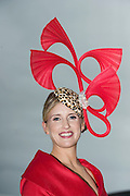 30/07/2015 report free : Winners Announced in Kilkenny Best Dressed Lady, Kilkenny Best Irish Design & Kilkenny Best Hat Competition at Galway Races Ladies Day <br /> At the event was Tara Lally-McGrath from Tuam.  <br /> Photo:Andrew Downes, xposure