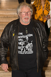 Victoria House, London, April 26th 2016.  Bill Oddie arrives at at the Jazz FM awards at Victoria House, Bloomsbury, London.